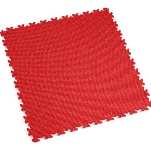 Red Snakeskin - Motolock Interlocking Floor Tile